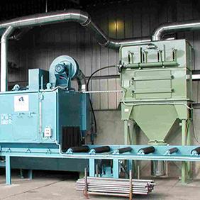 Машини за бластиране и повърхностна обработка